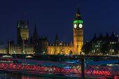 Big Ben At Twilight