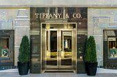 Tiffany & Company Retail Store Exterior
