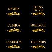 Latin Music Genres Golden Laurel