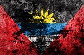 Antigua and Barbuda Flag.