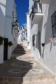 Village street, Frigiliana.
