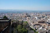 City rooftops, Granada.