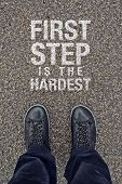 First Step Is The Hardest