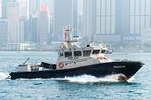 Marine Police in Hong Kong