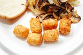 Tater Tots As A Fast Side Dish