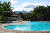 stock photo of batangas  - A swimming pool - JPG
