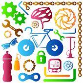 Bike Tools Icons