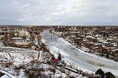 Ancient Russian Town Torzhok In Winter Time