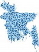 picture of bangladesh  - Map of Bangladesh  - JPG