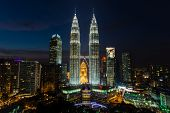 foto of klcc  - pictures taken on a short round the world trip in 2014 - JPG