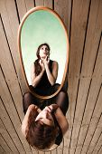 foto of thoughtfulness  - Solitude loneliness concept - JPG