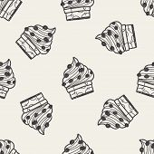 pic of fancy cake  - Doodle Cake - JPG
