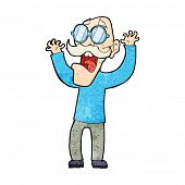 foto of spectacles  - cartoon old man wearing spectacles - JPG