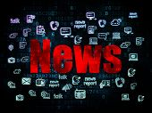 pic of pixel  - News concept - JPG