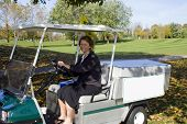 Golf Course Beverage Cart