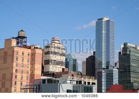 poster of New York City Skyline