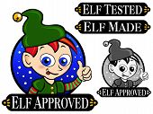 Elf Approved Seal