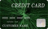 Mock Green Credit Card 3