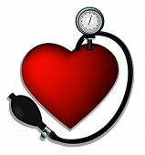 Presión del corazón