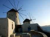 Greek Isles Windmills