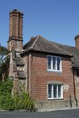 image of dork  - Old and quaint brick cottage at Shere - JPG