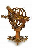 Antiguo instrumento telescópico