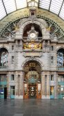 Historical Antwerpen-centraal Railway Station