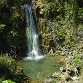 El Nicho Waterfall,