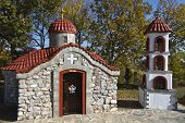 Small orthodox church at north Greece