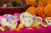 Day Of The Dead Mexican Offering