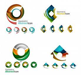 foto of emblem  - Universal abstract geometric shapes  - JPG