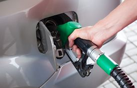 pic of petrol  - Fill up the fuel at petrol station - JPG