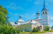 The Churches Of Suzdal Market Square poster