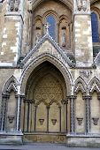 Creative Exterior Of Westminister Abbey/The Church Of England.