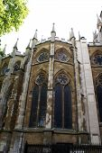 Gothic Windows Of Westminister Abbey/ The Church Of England