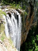 Cascada en el Parque Nacional de Springbrook, Australia