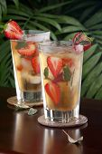 Strawberry Sage Iced Tea