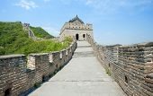 picture of qin dynasty  - the Great Wall of China at Mutianyu - JPG