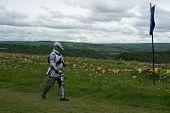 wandering knight in armor