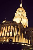 State Capitol Building In Springfield