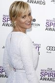 SANTA MONICA, CA - FEB 25: Judith Godreche at the 2012 Film Independent Spirit Awards on February 25