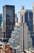 Mid-town Manhattan cityscape