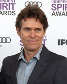 LOS ANGELES - FEB 25:  Willem Dafoe arrives at the 2012 Film Independent Spirit Awards at the Beach