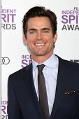 LOS ANGELES - FEB 25:  Matthew Bomer arrives at the 2012 Film Independent Spirit Awards at the Beach