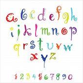 alfabeto de Vector