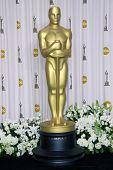 LOS ANGELES - FEB 26:  Oscar arrives at the 84th Academy Awards at the Hollywood & Highland Center o