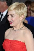 LOS ANGELES - FEB 26:  Michelle Williams arrives at the 84th Academy Awards at the Hollywood & Highl