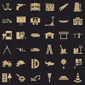 Forwarding Icons Set. Simple Set Of 36 Forwarding Vector Icons For Web For Any Design poster