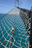 Netting on Pirate Boat