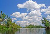 Summer Skies In Canoe Country